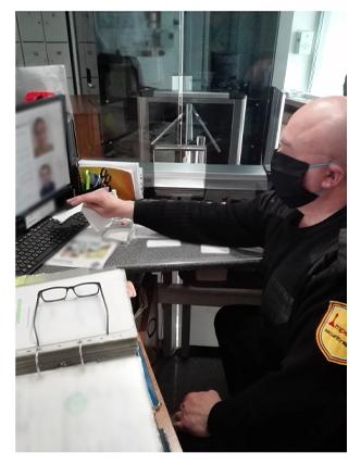 оператор видеонаблюдения на заводе